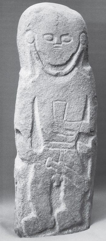 Кам'яна скіфська статуя